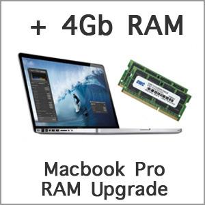 Macbook Pro 4GB RAM Upgrade